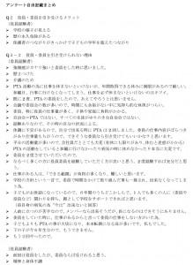 CSアンケート 自由記載 (2)-1